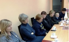 Inovatyvių mokytojų klubo diskusijos dalyviai
