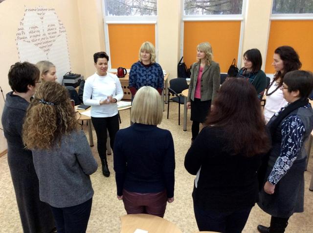Panevėžio rajono švietimo centre įkurtas klasių vadovų metodinis būrelis